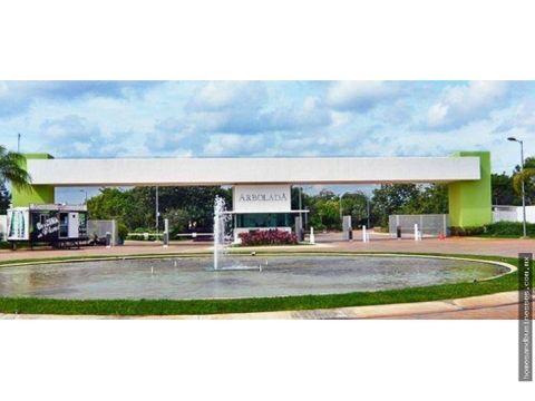 venta de terreno en arbolada cancun