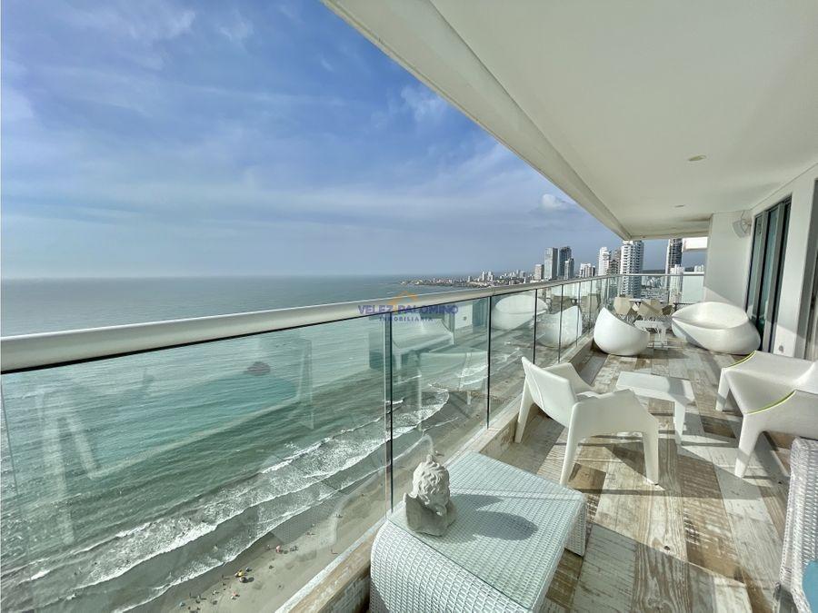 apartamento en bocagrande edificio palmetto beach