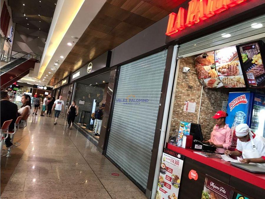 local zona de comidas plaza bocagrande
