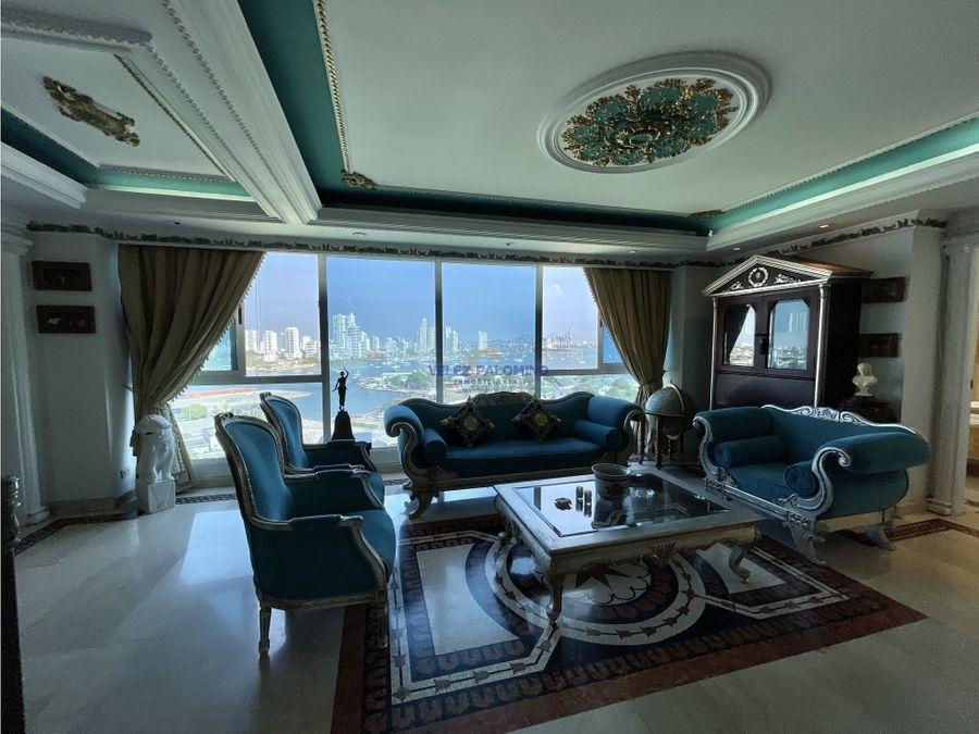 penthouse en bocagrande edificio puerto azul