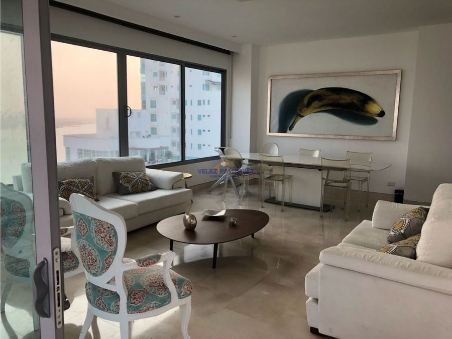 apartamento en castillogrande edificio mar de cristal