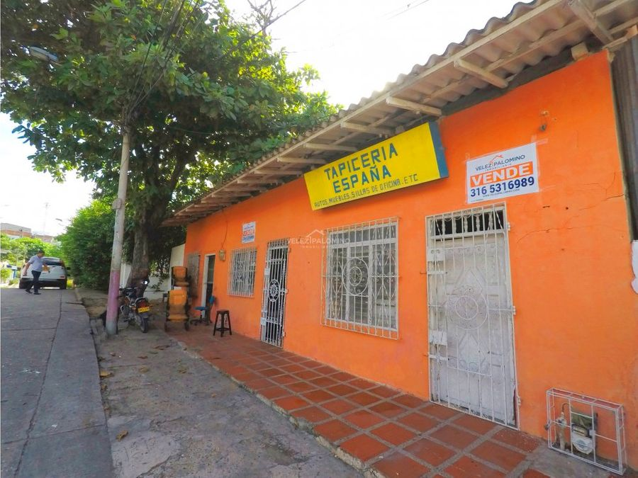 casa lote en el barrio espana