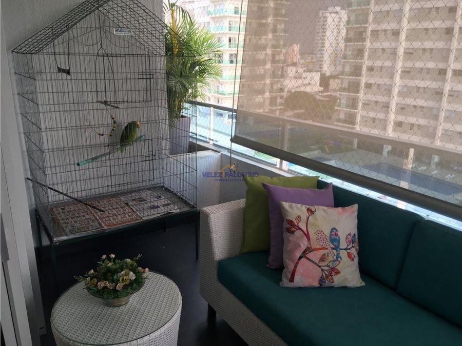apartamento en manga edificio torre keops