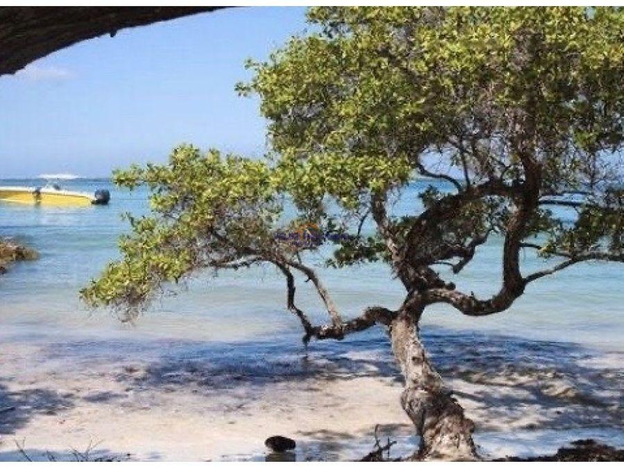 isla en baru frente a islas del rosario