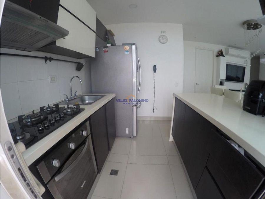 apartamento en manga edificio garza real vista bahia