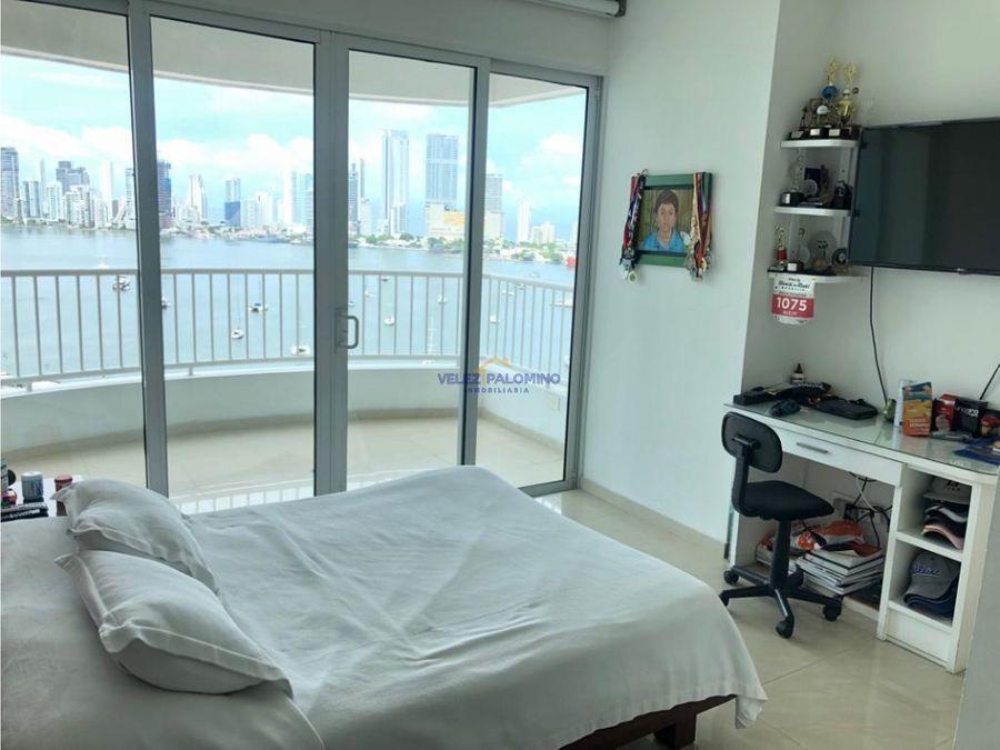 apartamento en manga conjunto vista bahia