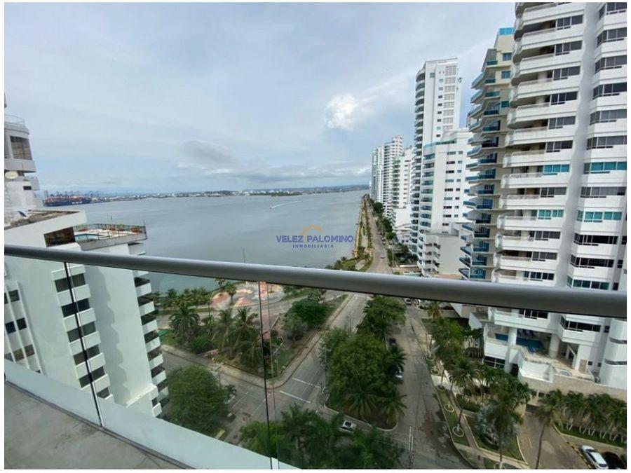 apartamento en bocagrande edificio grand bay