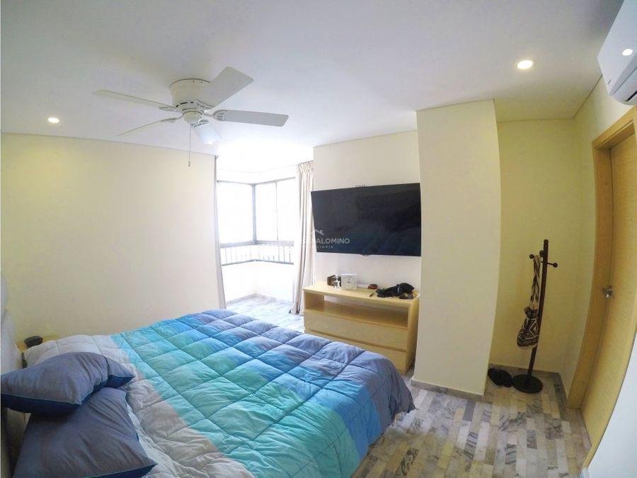 apartamento en bocagrande edificio mar de baru