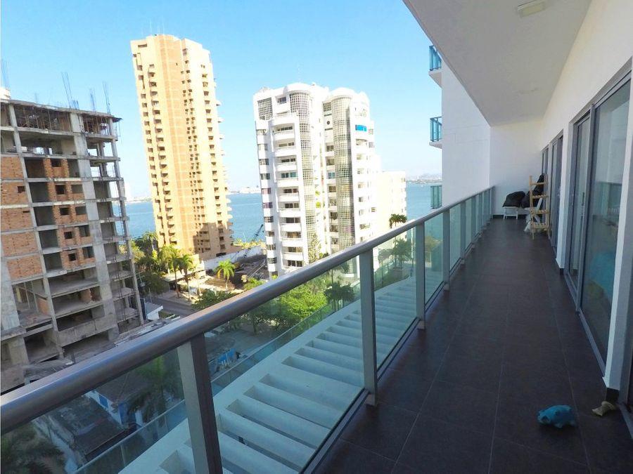 apartamento en bocagrande edificio infinitum