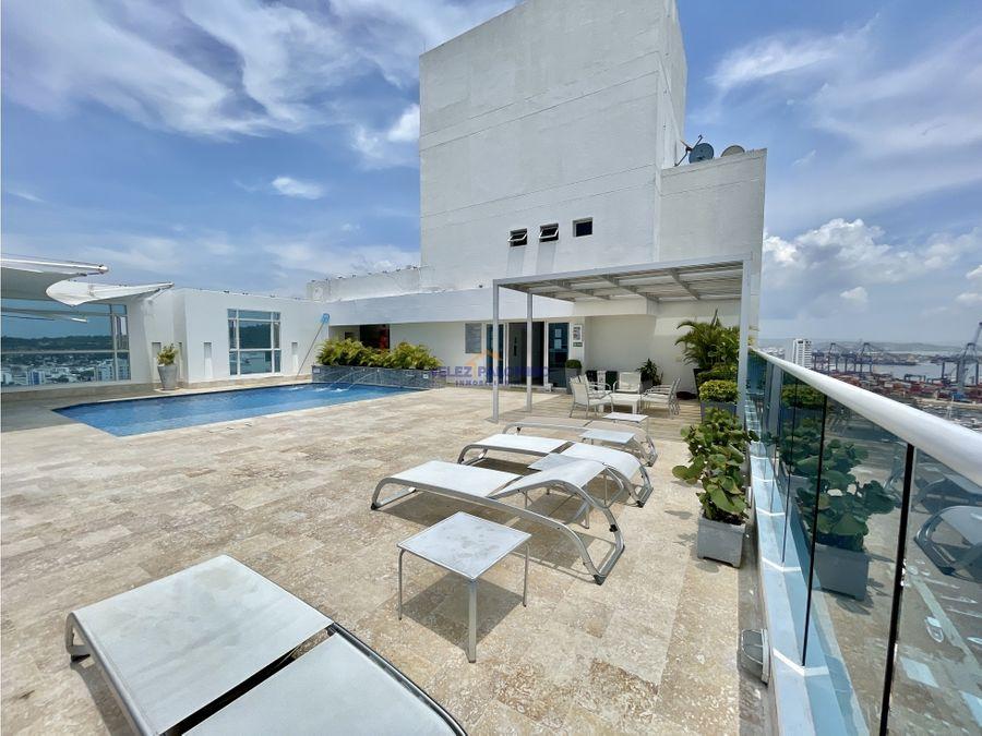 penthouse en el barrio manga edificio bellamare