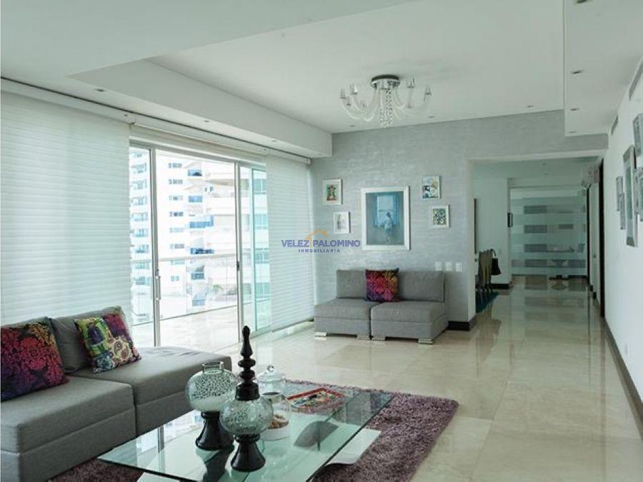 apartamento duplex en bocagrande edificio grand bay