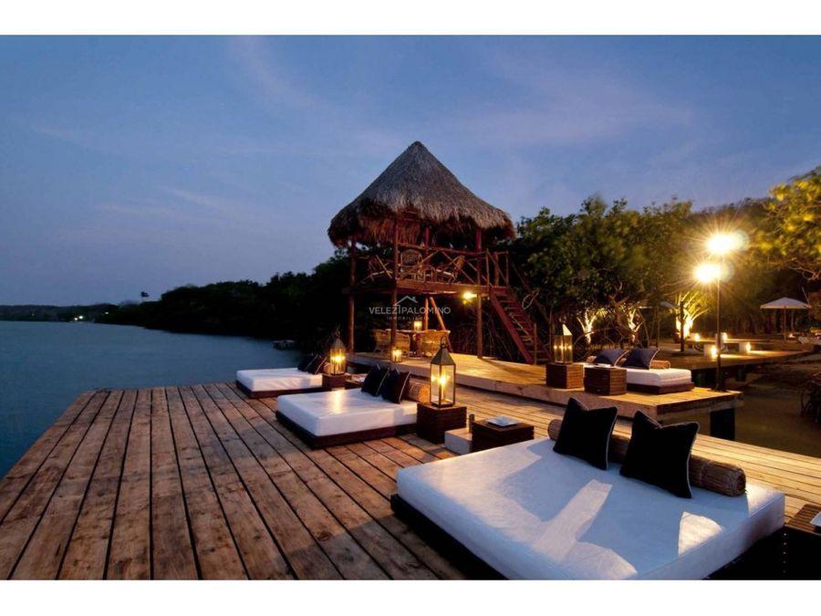 hotel en la isla de baru