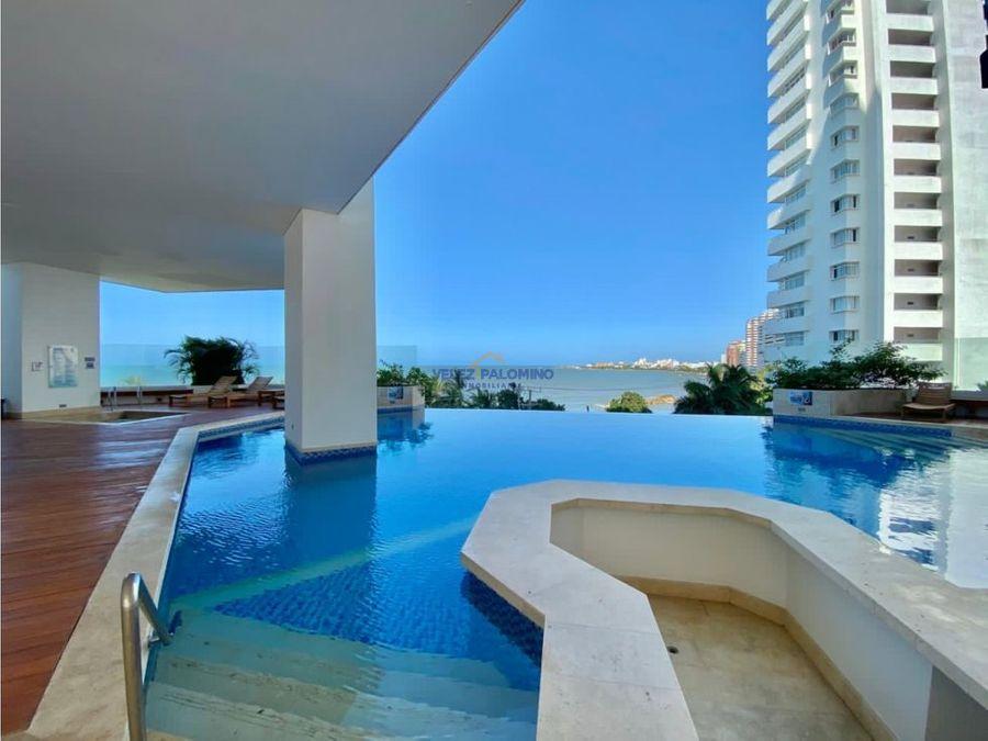 apartamento en bocagrande edificio terrazas del mar