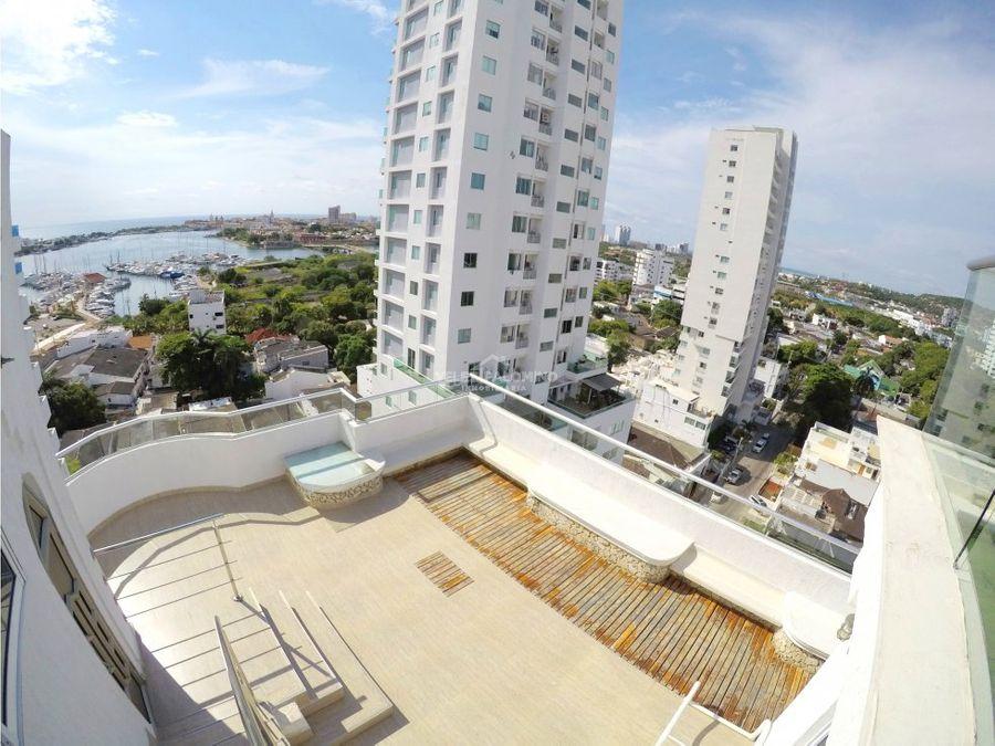 penthouse en manga edificio davinci