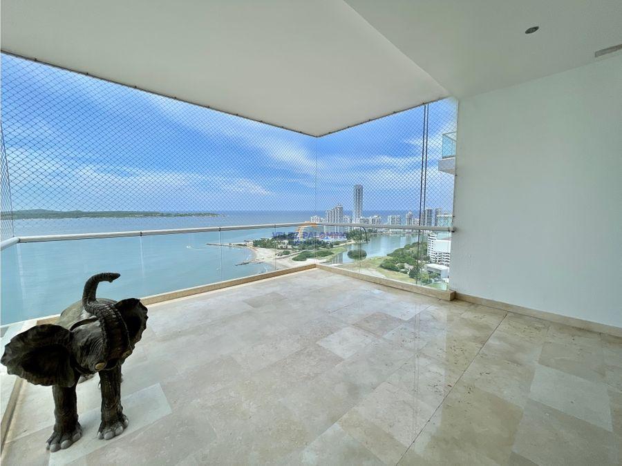 apartamento en castillogrande edificio puerta del mar