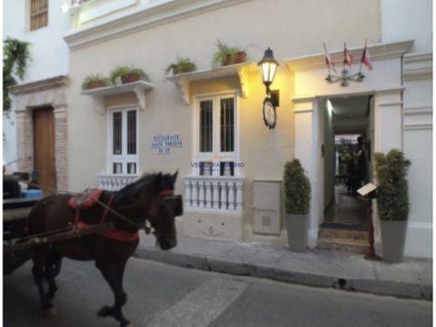 casa restaurante en el centro historico