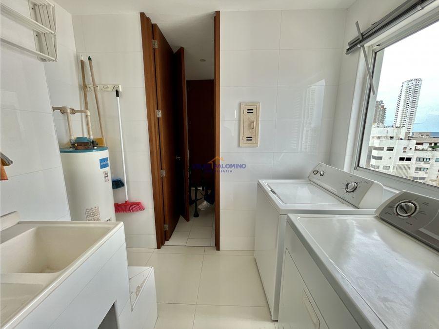 apartamento en bocagrande edificio bahia 419