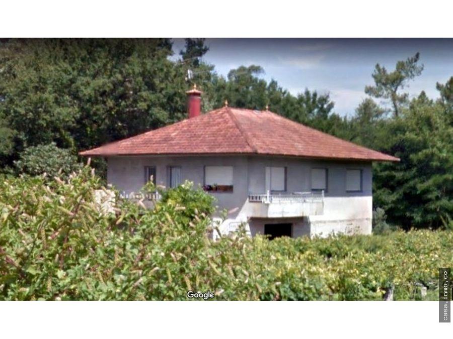 casas en venta ponteareas con terreno