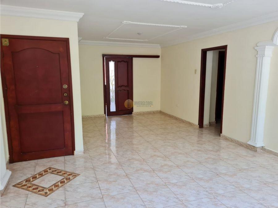 apartamento en arriendo en villa santos