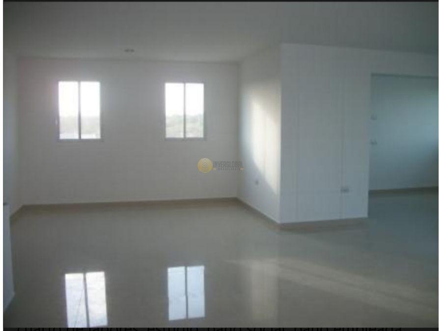 apartamento en arriendo o venta villa santos