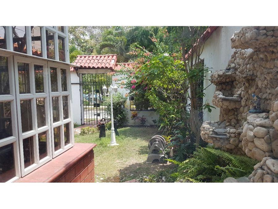 casa en venta barranquilla en villa santos