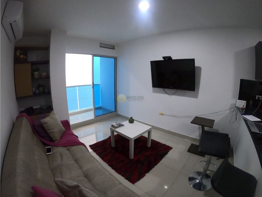 apartamento amoblado en altamira