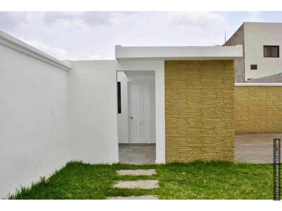 venta de casa nueva en res el sauce 185000