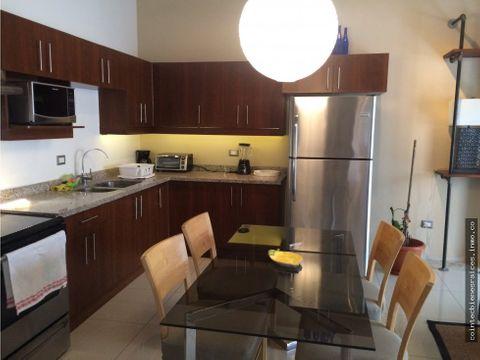 alquiler apartamento amueblado en proceres 1300