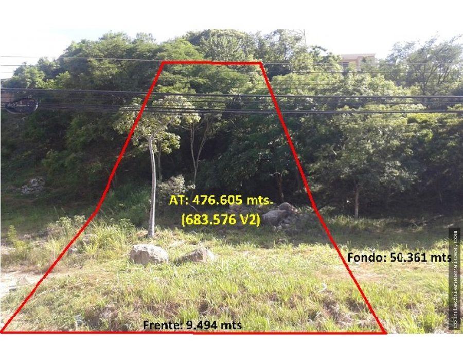venta de terreno en roble oeste lps 1230426