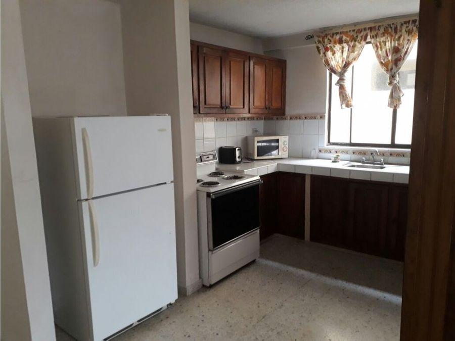 alquilo apartamento amueblado en tepeyac 600