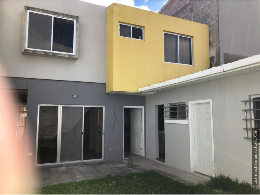 alquilo moderna casa en res el sauce l20000