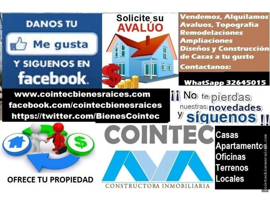 alquilo casa por centro americacircuitol12500