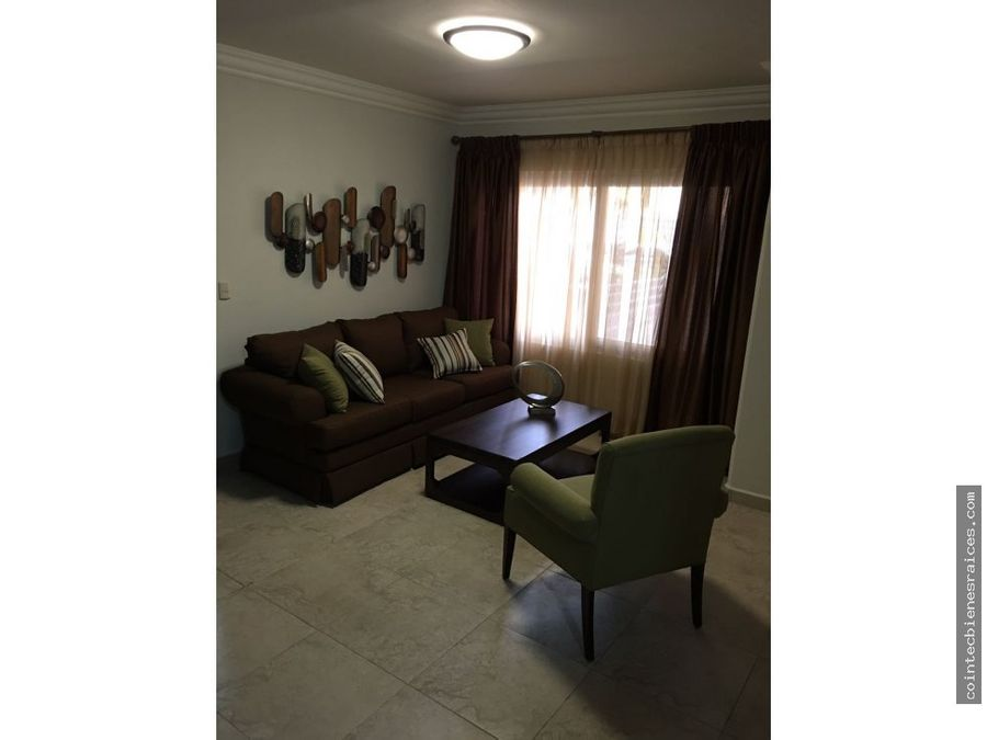 alquilo apartamento amueblado en torre lara 700