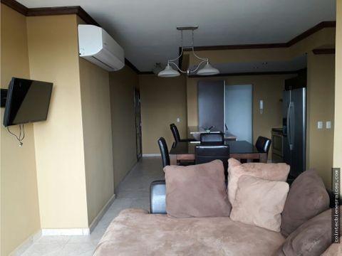 alquilo apartamento amueblado en torre lara1350
