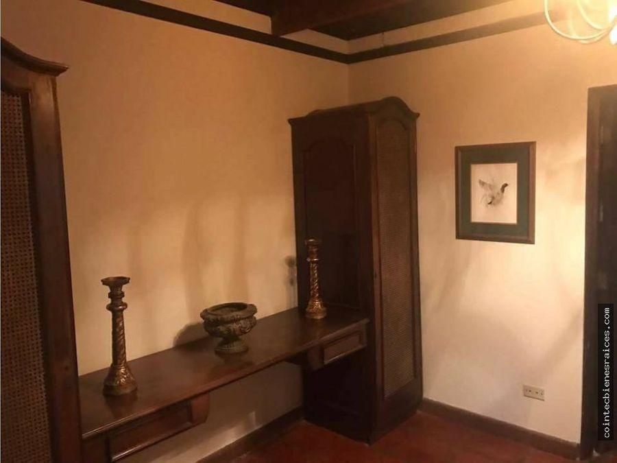 alquiler de casa amueblada en el hatillo 1800