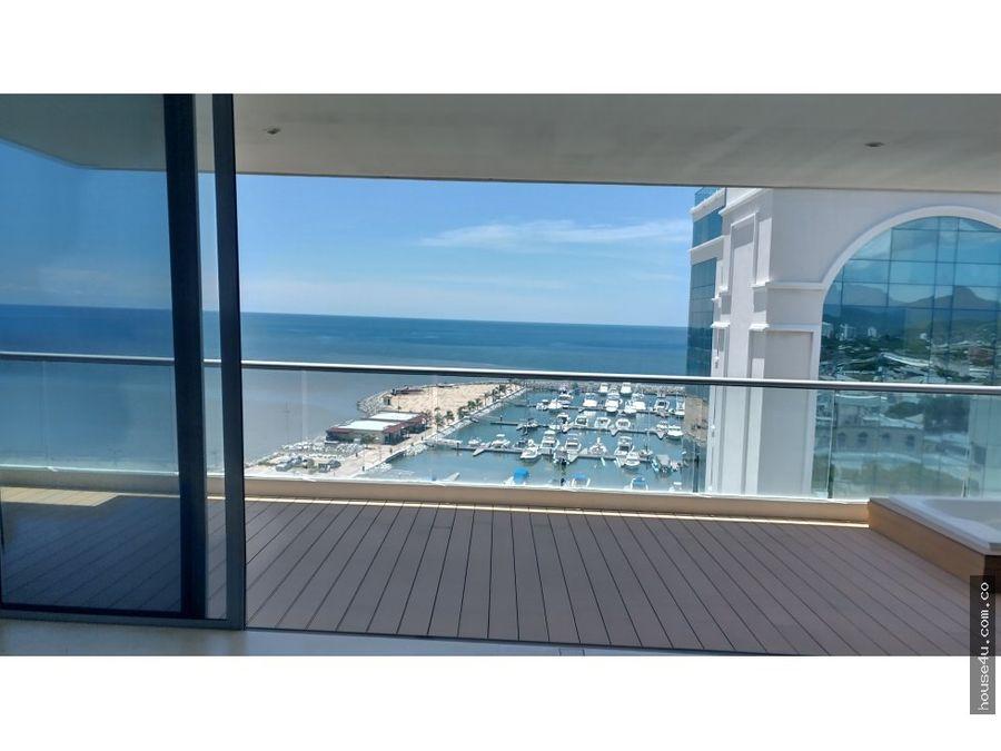 se vende apartasuits nuevo en edificio gran marina