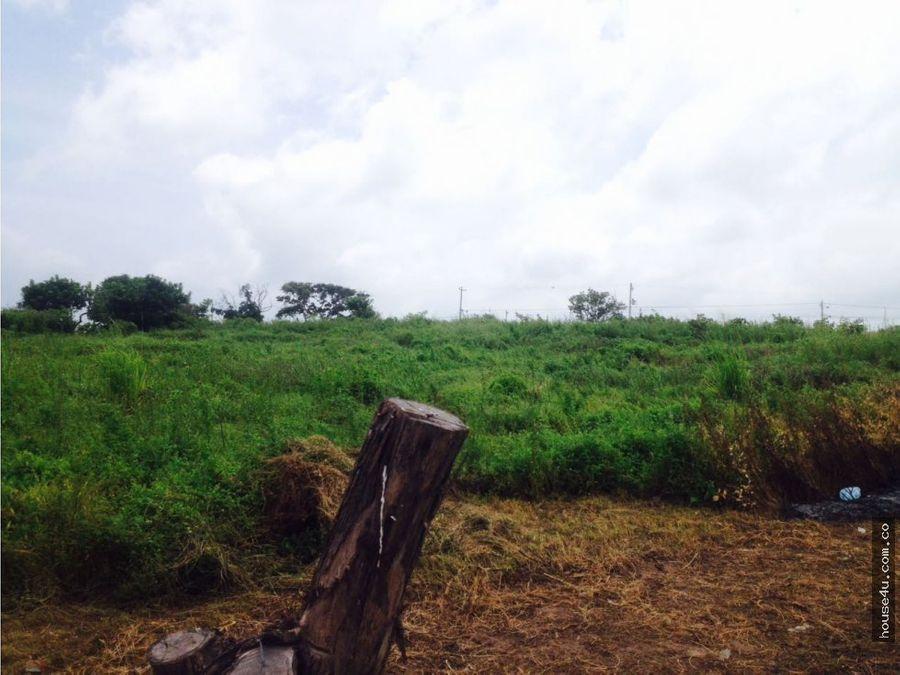lote en venta de 3 hectareas villa olimpica galapa