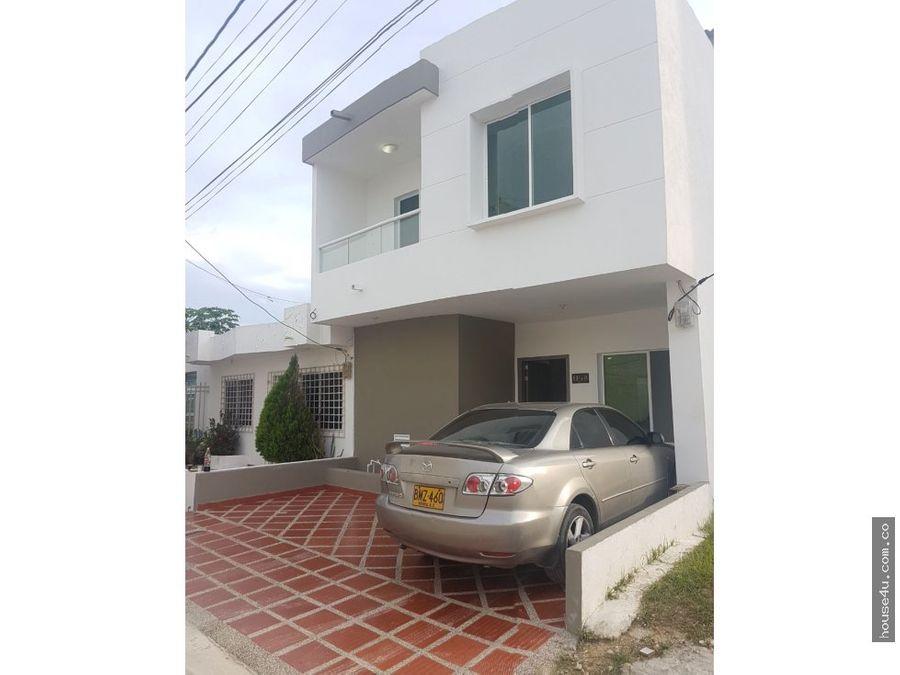 casa en venta en bello mar en puerto colombia