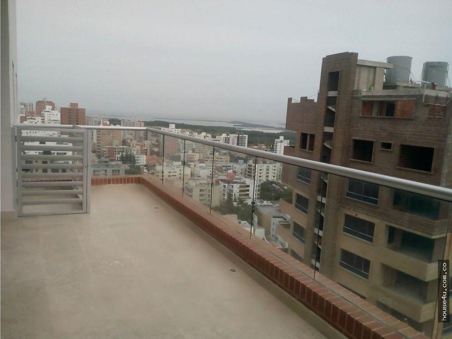 penthouse 3 alcobas altos de riomar barranquilla