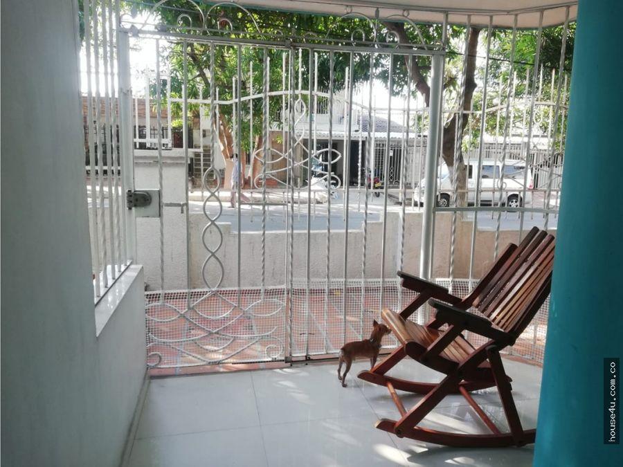 en venta comoda casa duplex en el barrio cevillar barranquilla