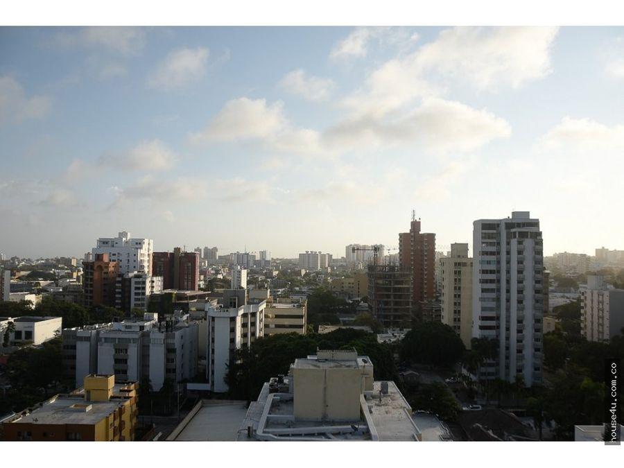 apartamento en venta en alto prado en barranquilla