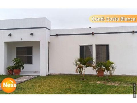 casa en venta en condominio urb nueva esperanza