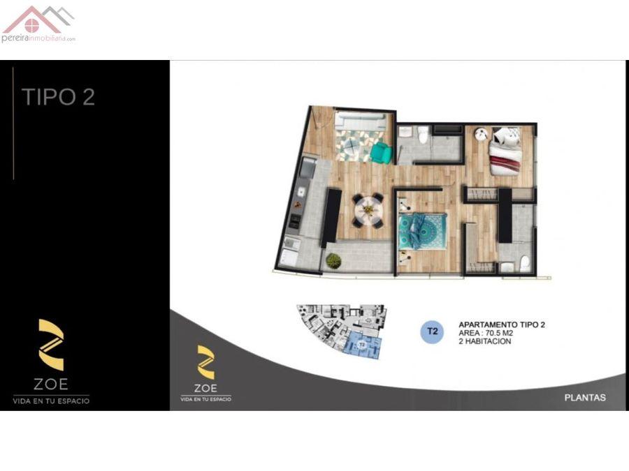 venta de apartamentos en proyecto zoe