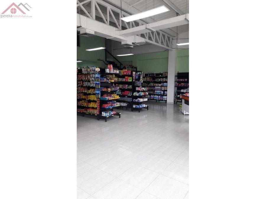 venta de local con supermercado en cerritos