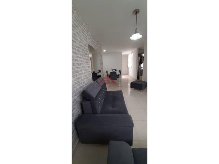 se vende excelente apartamento en conjunto sector las violetas