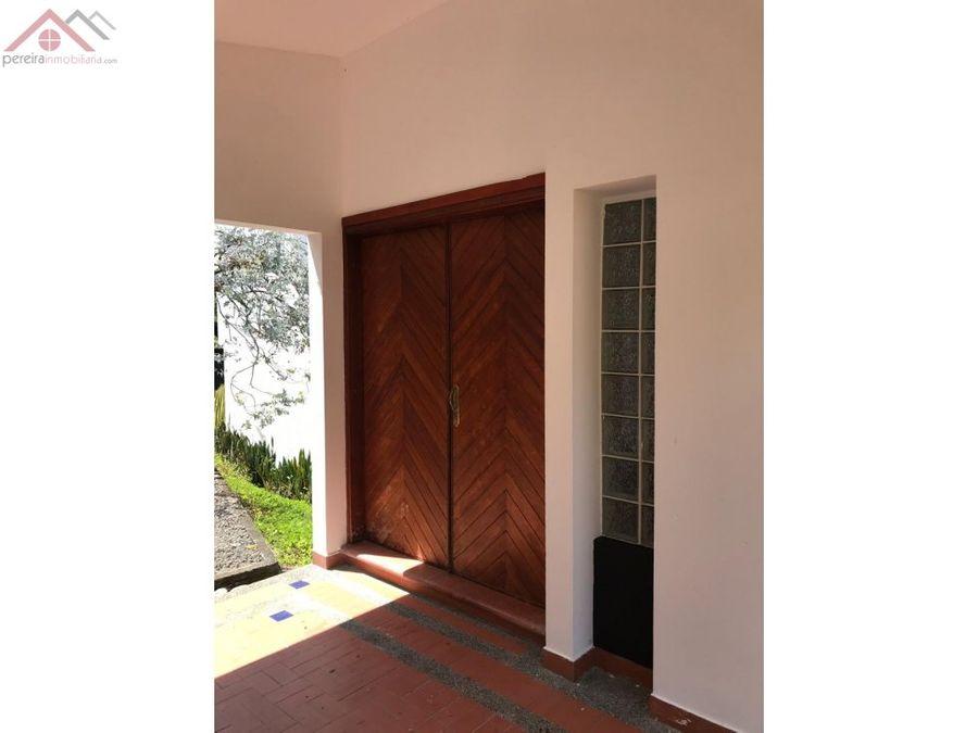 venta de casa campestre via la variante condina