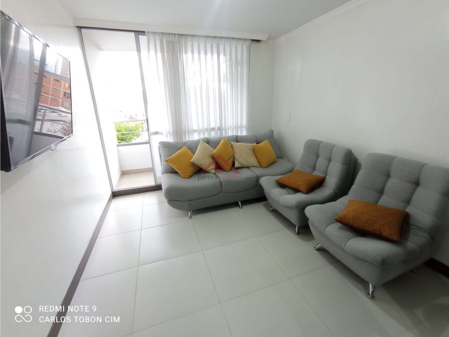 se vende hermoso apartamento en edificio sector ciudad jardin