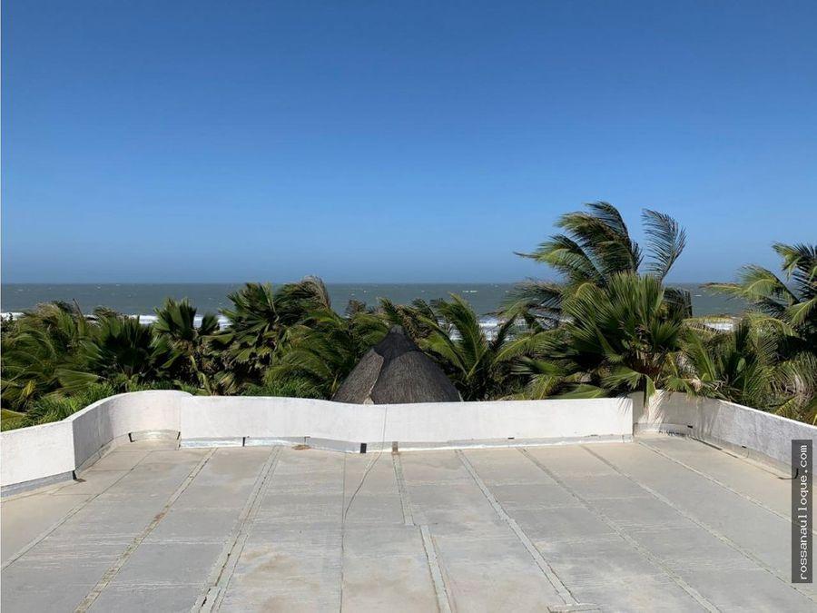 vendo casa de playa en sector santa veronica
