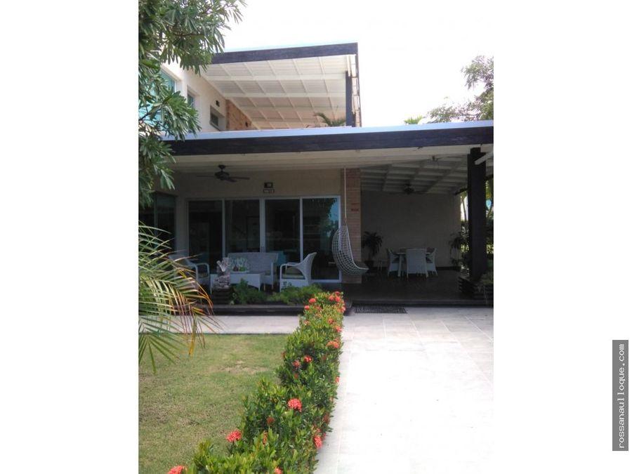vendo casa en condominio agua marina beach resort