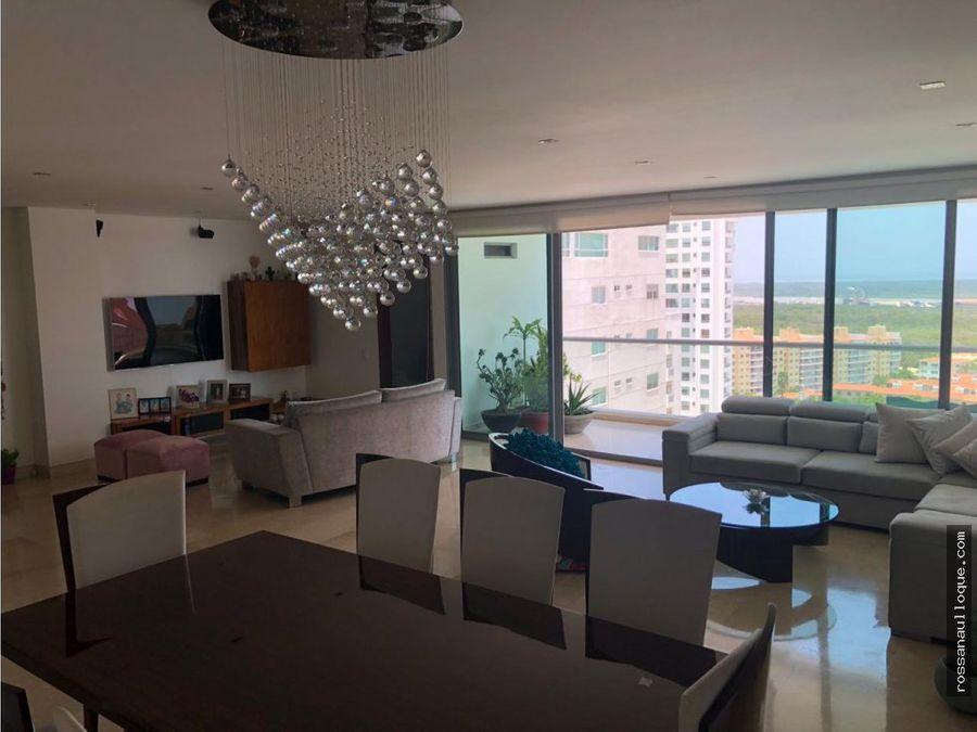 se vende hermoso apartamento en buenavista